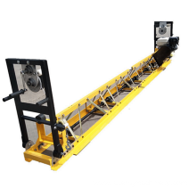 Engine concrete truss screed floor leveling machine